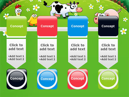 Funny Farm PowerPoint Template Slide 18