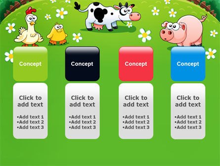 Funny Farm PowerPoint Template Slide 5