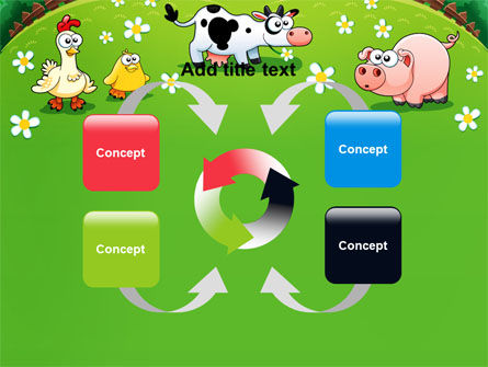 Funny Farm PowerPoint Template Slide 6