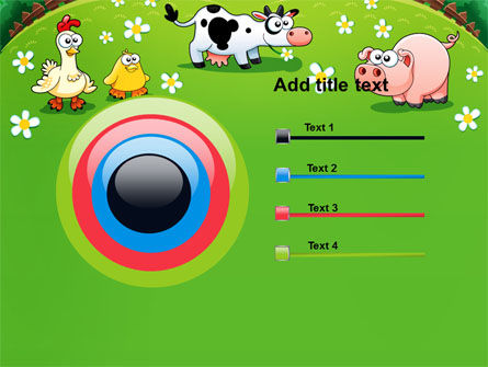 Funny Farm PowerPoint Template Slide 9