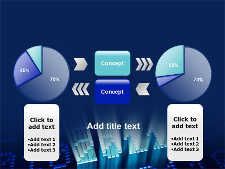 2011 Digits PowerPoint Template Slide 11