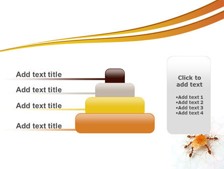 Ants Team Work PowerPoint Template Slide 8