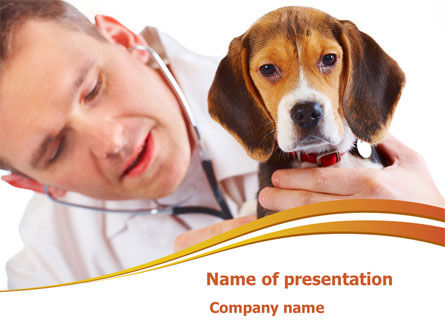 Animals and Pets: Veterinarian PowerPoint Template #08292