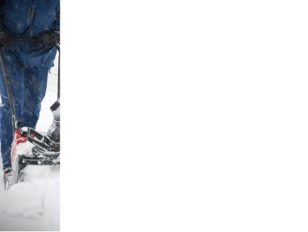 Snow Cleaning PowerPoint Template, Slide 3, 08293, Utilities/Industrial — PoweredTemplate.com