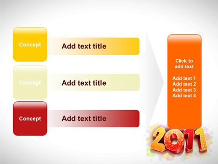 2011 PowerPoint Template Slide 12