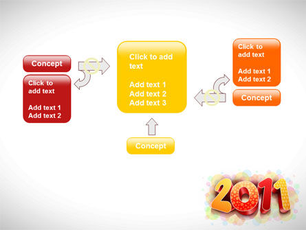 2011 PowerPoint Template Slide 13