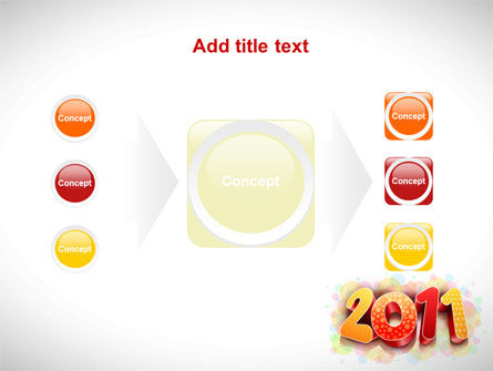 2011 PowerPoint Template Slide 17