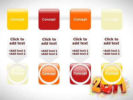 2011 PowerPoint Template Slide 18