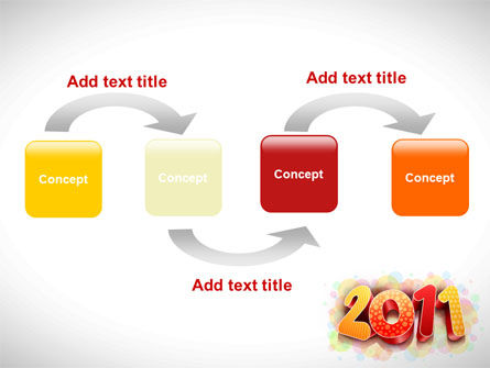 2011 PowerPoint Template, Slide 4, 08294, Holiday/Special Occasion — PoweredTemplate.com