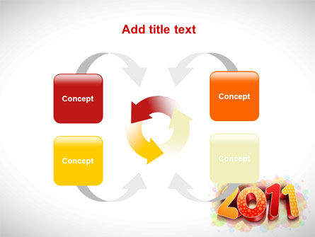 2011 PowerPoint Template Slide 6