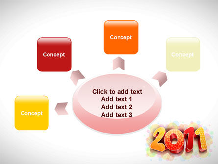 2011 PowerPoint Template Slide 7