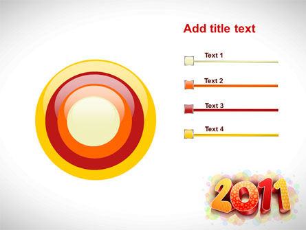 2011 PowerPoint Template Slide 9