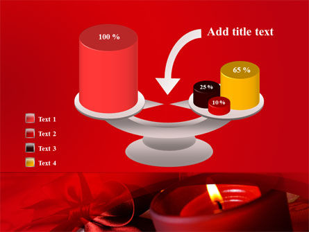 Red Christmas Candles PowerPoint Template Slide 10
