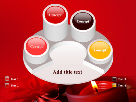 Red Christmas Candles PowerPoint Template Slide 12