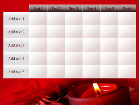 Red Christmas Candles PowerPoint Template Slide 15