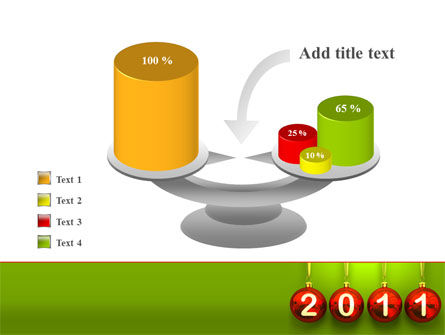 Year of 2011 PowerPoint Template Slide 10