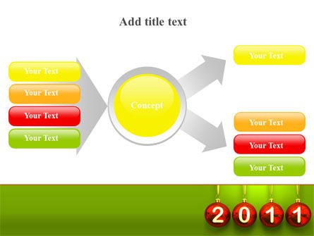 Year of 2011 PowerPoint Template Slide 14