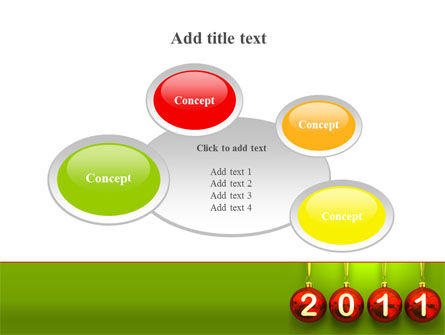 Year of 2011 PowerPoint Template Slide 16