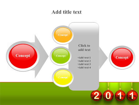 Year of 2011 PowerPoint Template Slide 17