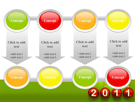 Year of 2011 PowerPoint Template Slide 18