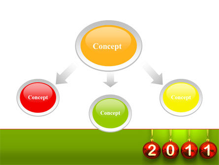 Year of 2011 PowerPoint Template Slide 4