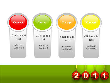 Year of 2011 PowerPoint Template Slide 5