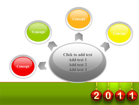 Year of 2011 PowerPoint Template Slide 7