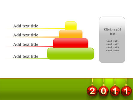 Year of 2011 PowerPoint Template Slide 8
