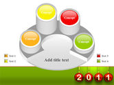 Year of 2011 PowerPoint Template#12