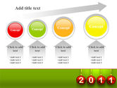 Year of 2011 PowerPoint Template#13