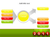 Year of 2011 PowerPoint Template#14