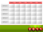Year of 2011 PowerPoint Template#15