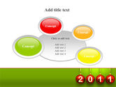 Year of 2011 PowerPoint Template#16