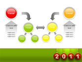 Year of 2011 PowerPoint Template#19