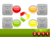 Year of 2011 PowerPoint Template#9