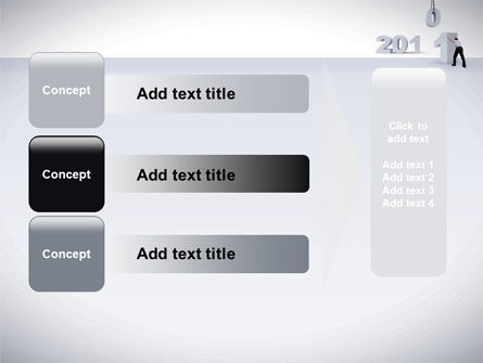 Business Year 2011 PowerPoint Template Slide 12