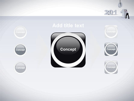 Business Year 2011 PowerPoint Template Slide 17