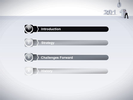 Business Year 2011 PowerPoint Template, Slide 3, 08297, Holiday/Special Occasion — PoweredTemplate.com