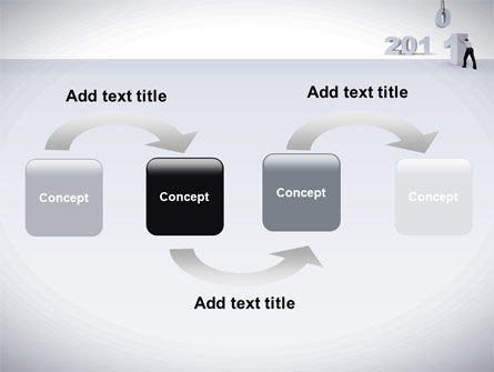 Business Year 2011 PowerPoint Template Slide 4