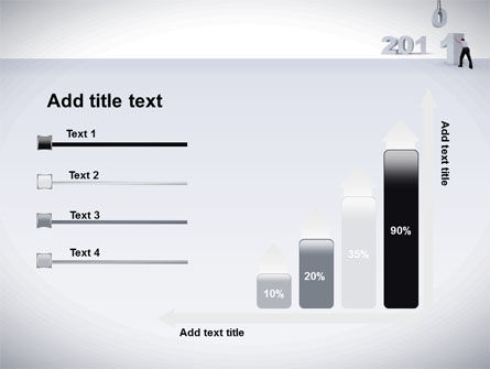 Business Year 2011 PowerPoint Template Slide 8