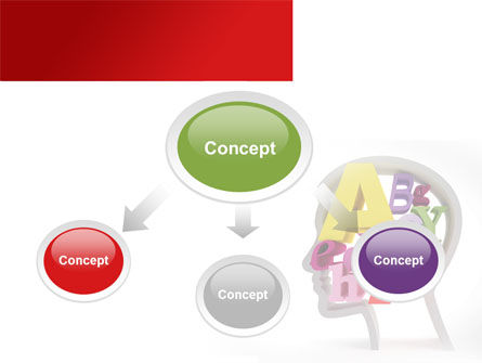 Head Full PowerPoint Template Slide 4