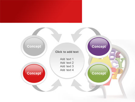 Head Full PowerPoint Template Slide 6