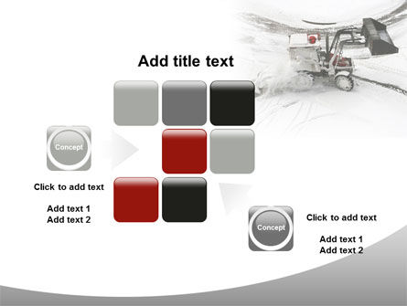 Free Snow Cleaning Machine PowerPoint Template Slide 16