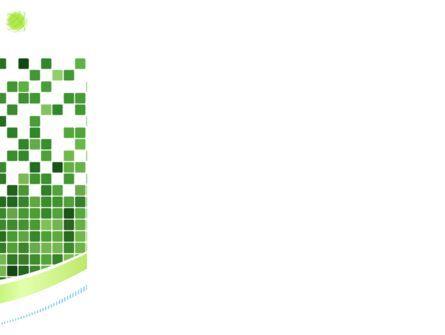 Green Mosaic PowerPoint Template, Slide 3, 08300, Abstract/Textures — PoweredTemplate.com