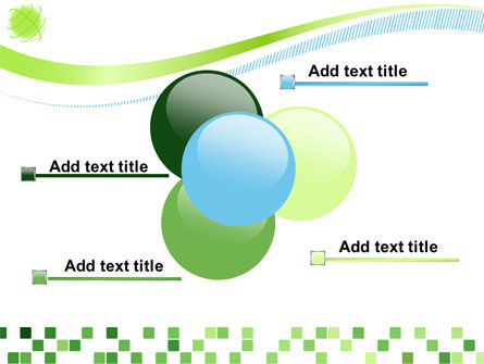 Green Mosaic PowerPoint Template Slide 10