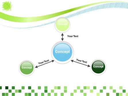 Green Mosaic PowerPoint Template Slide 14