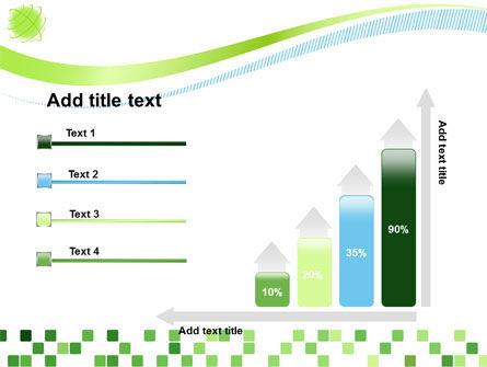 Green Mosaic PowerPoint Template Slide 8