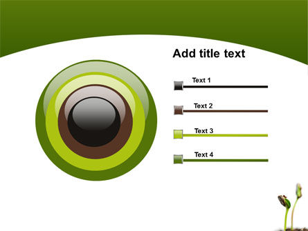 Sprouting Seed PowerPoint Template Slide 9