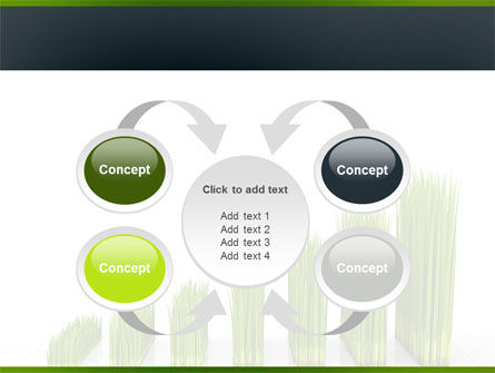 Growing Chart PowerPoint Template Slide 6