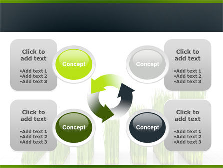 Growing Chart PowerPoint Template Slide 9